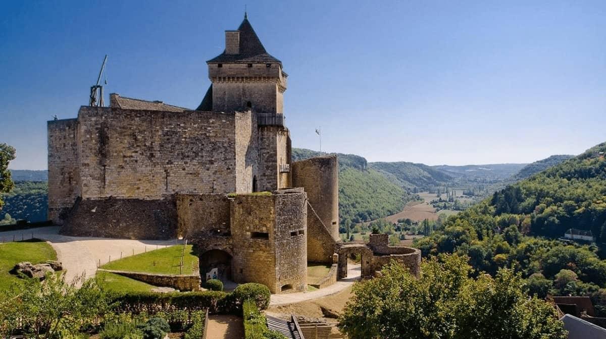 lâu đài ở pháp