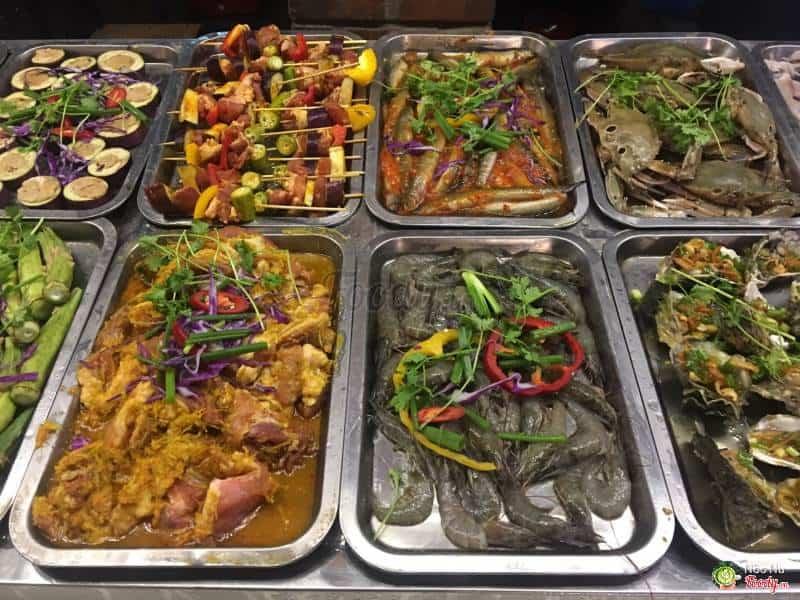 Alibaba - Buffet nướng hải sản Đà Nẵng