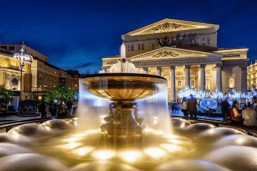 nhà hát Bolshoi ở Nga