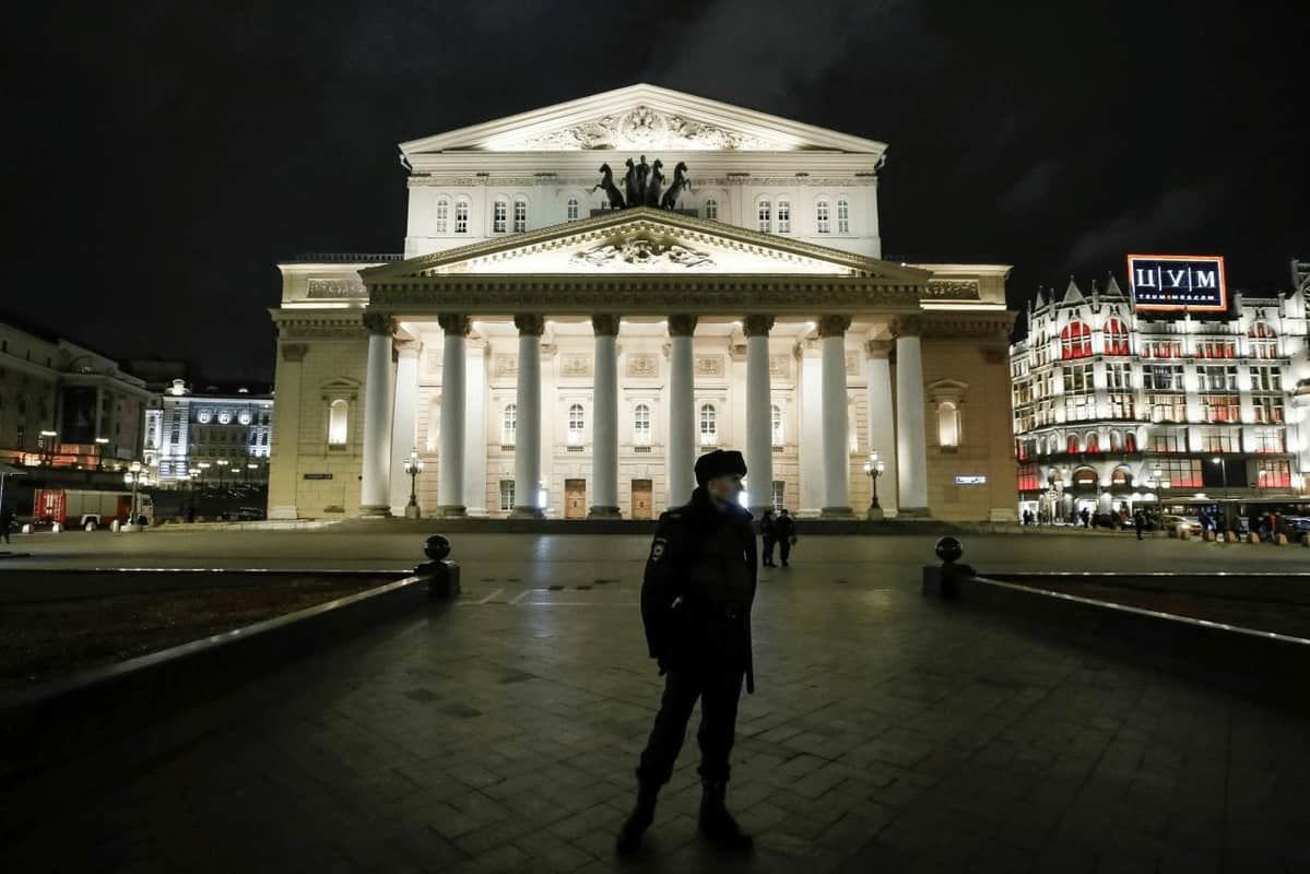 nhà hát Bolshoi tại Nga