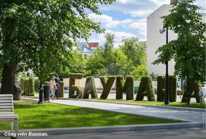Những Công Viên Đẹp Ở Moscow