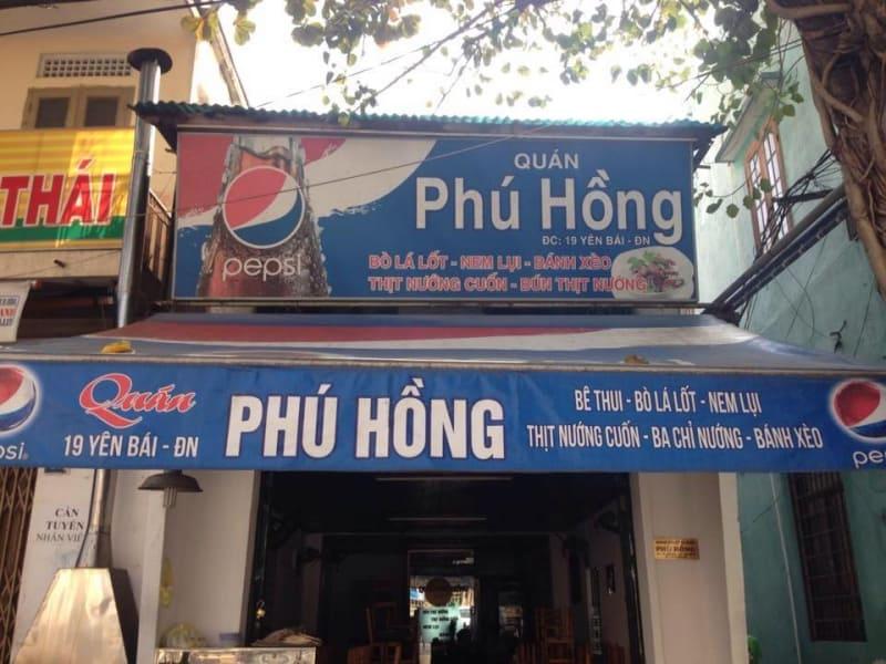 Quán Phú Hồng Đà Nẵng