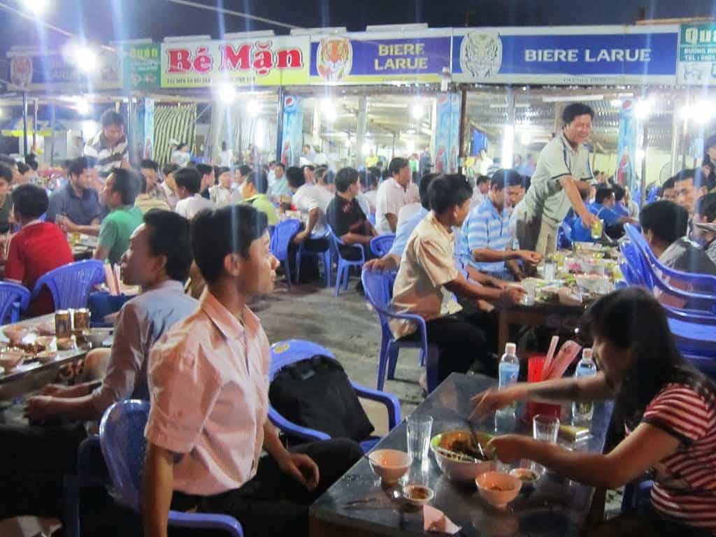 Các quán nhậu bình dân ở Đà Nẵng