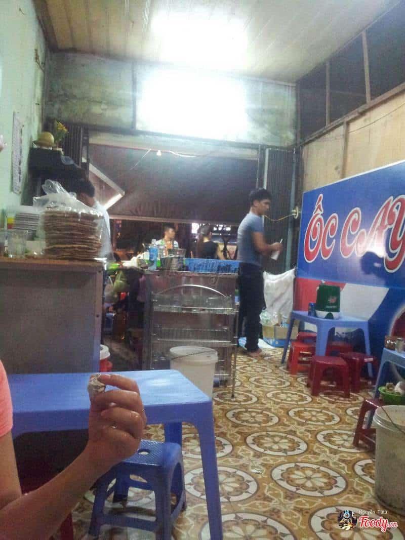 Quán Ốc cay Đà Nẵng Hà Nội