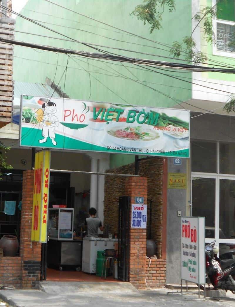 Phở Việt Bờm Đà Nẵng