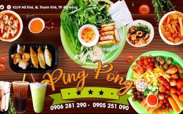 món ăn lại Pingpong