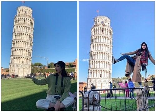 Chụp ảnh đẹp ở tháp
