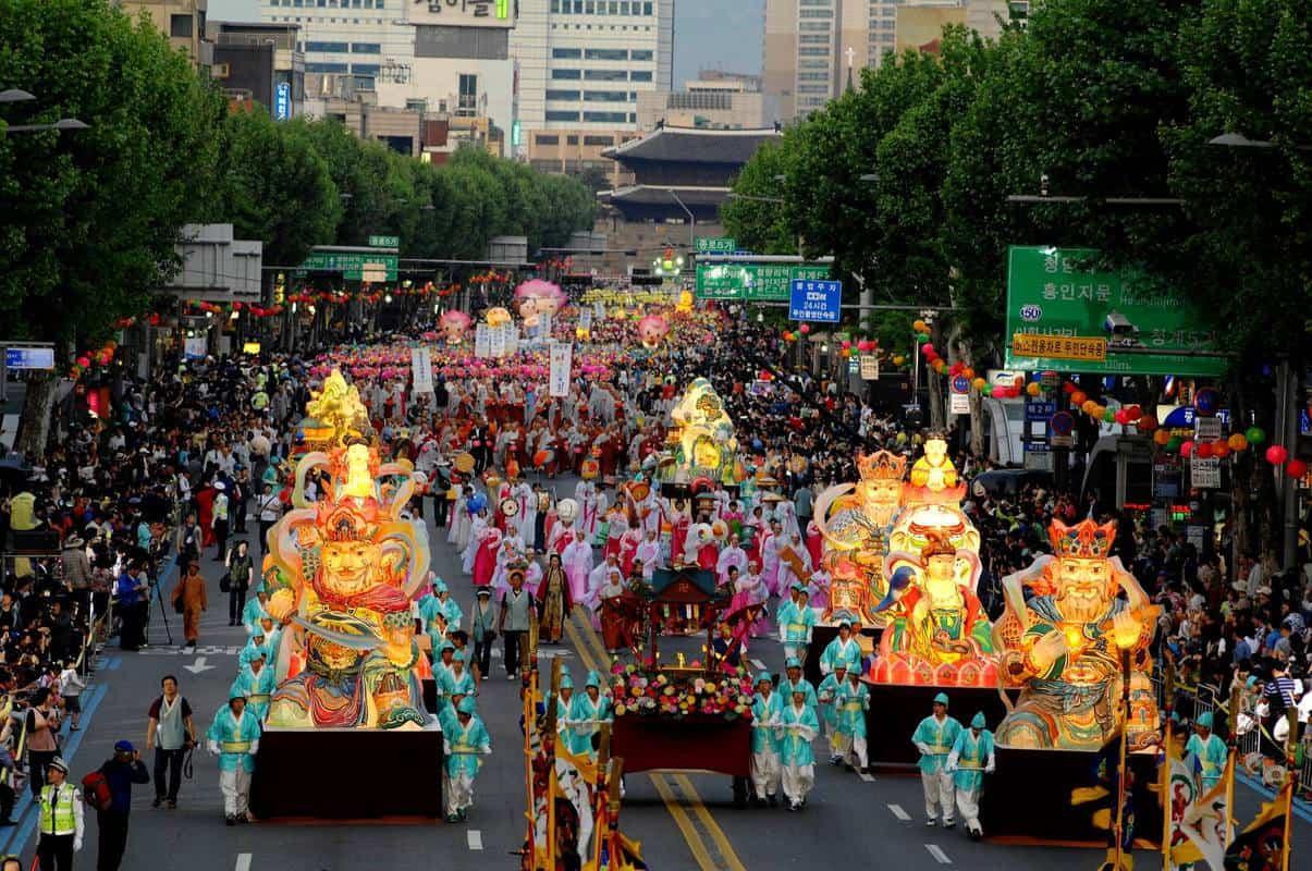Lễ hội Phật Đản tại Hàn Quốc