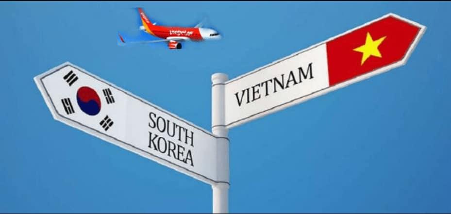 Vé đi Hàn Quốc bao nhiêu tiền