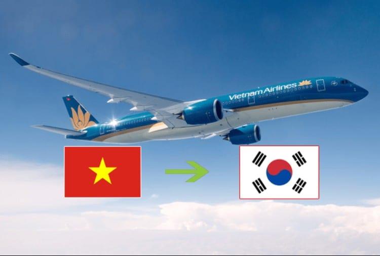 Chuyến bay từ Việt Nam sang Hàn Quốc