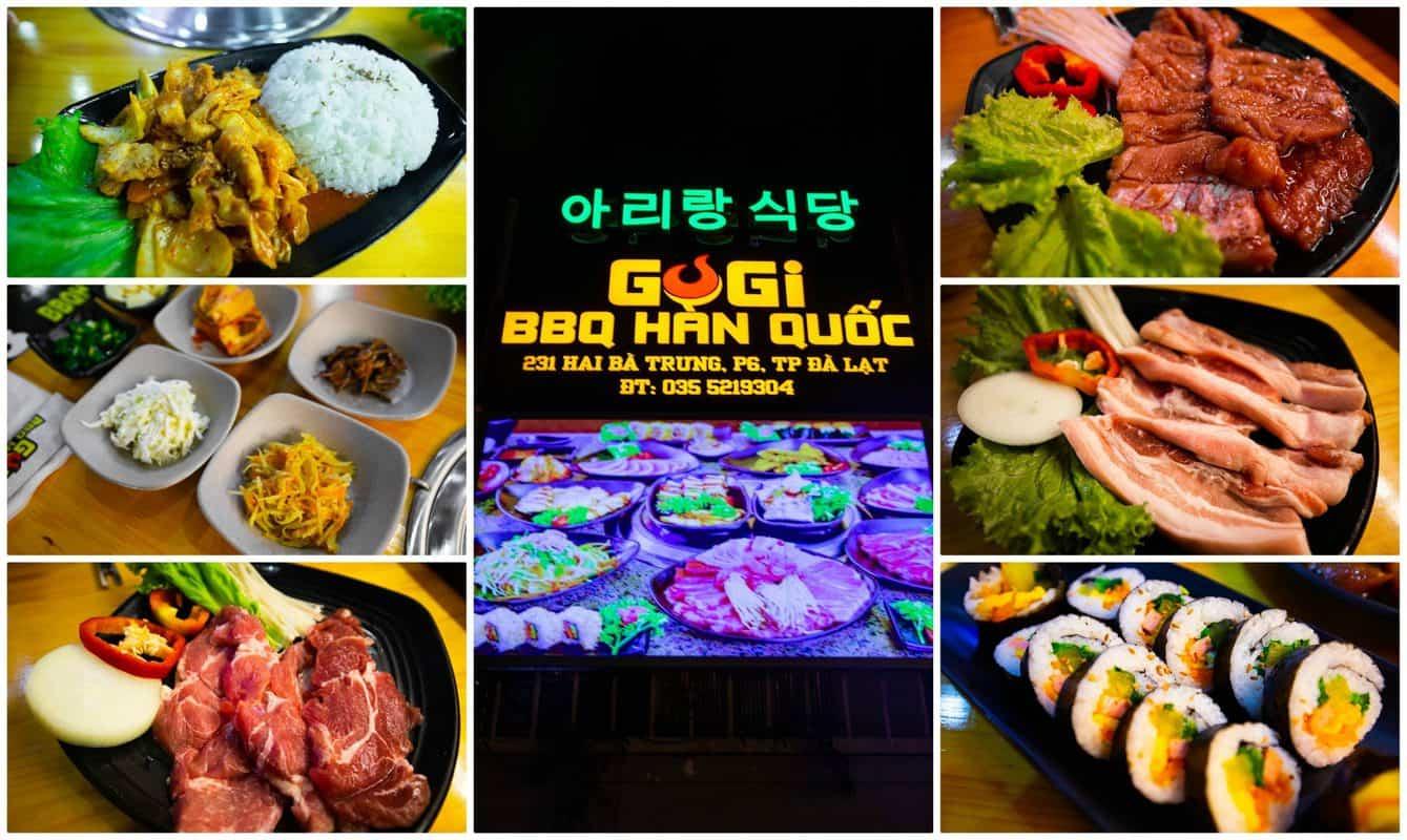 BBQ GOGI Hàn Quốc
