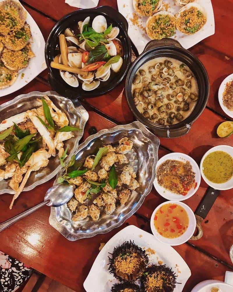 Quán Cát Biển Phú Quốc - thực đơn đa dạng, hương vị phong phú