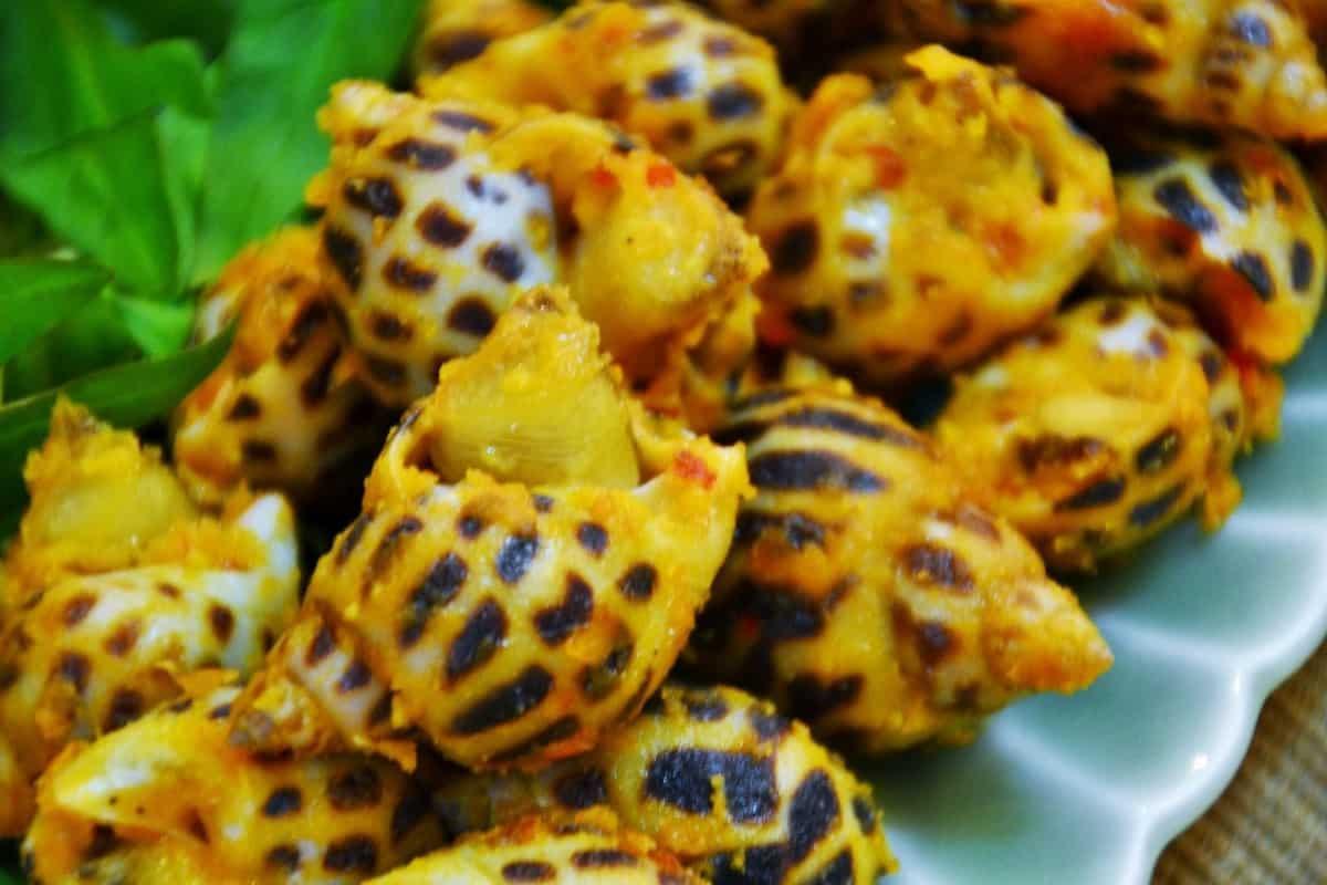 Ốc Hương rang muối ớt Cát Biển Phú Quốc