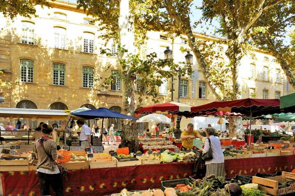 Khu chợ thứ 4 đặc trưng của vùng Provence