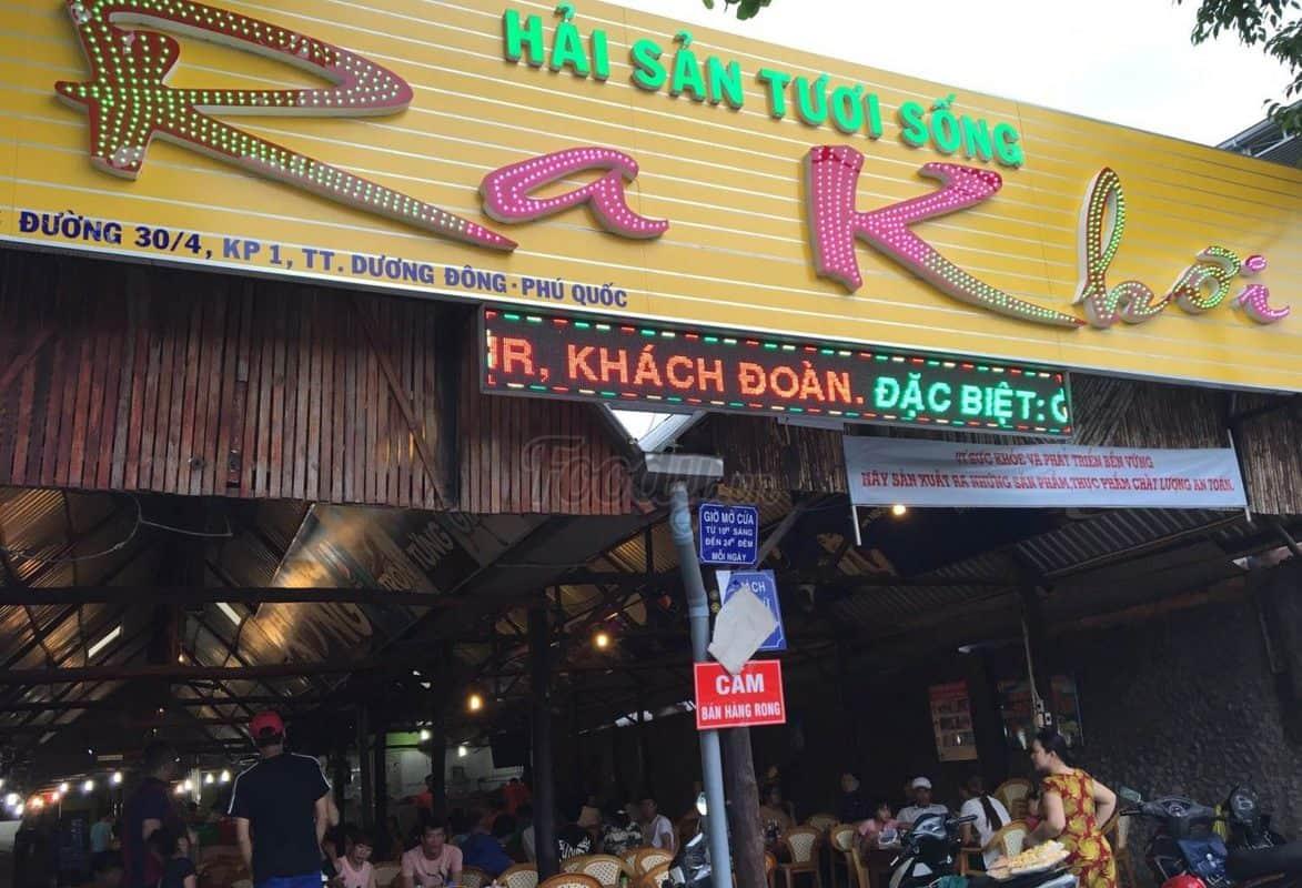 Quán nhậu Phú Quốc ngon