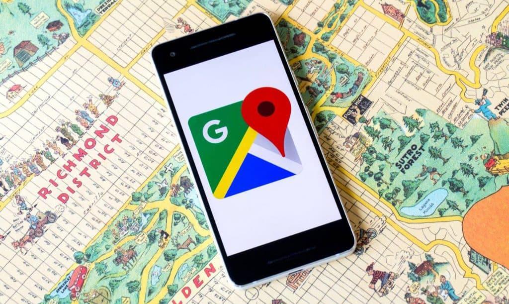 Sử dụng Google Maps