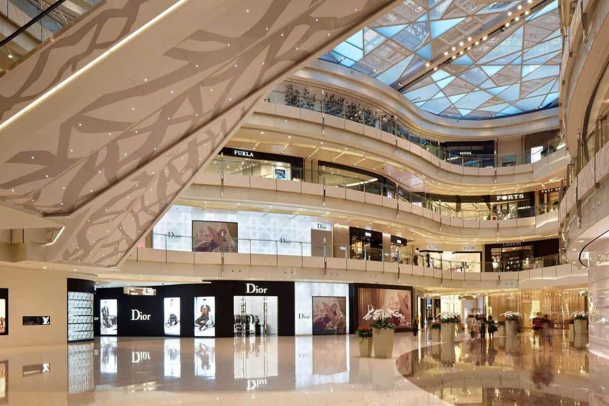Shanghai IFC Mall ở Trung Quốc