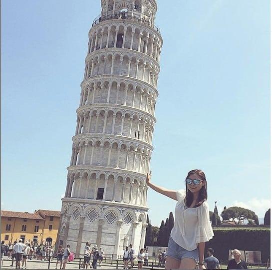 tháp nghiêng pisa của ý