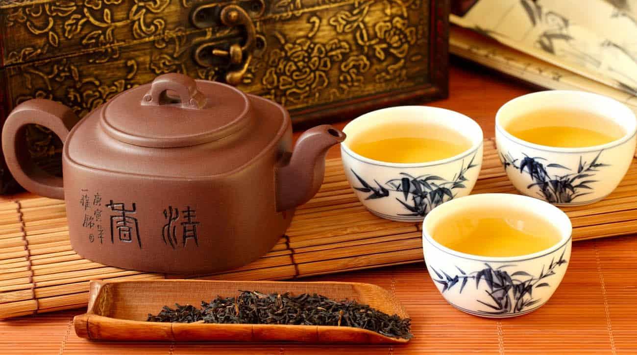 Trung Quốc nổi tiếng với những loại trà thơm ngon