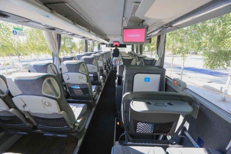 Xe bus cũng là một phương tiện thú vị