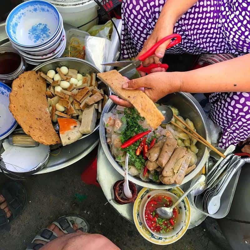 Thiên đường ẩm thực chợ Cồn
