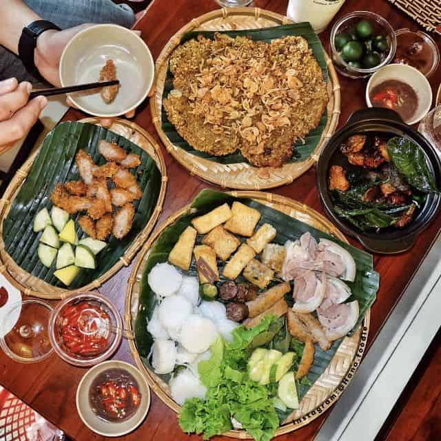 món ngon ở quán Gánh Đà Nẵng