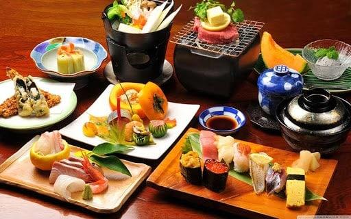 ẩm thực ở Nhật Bản