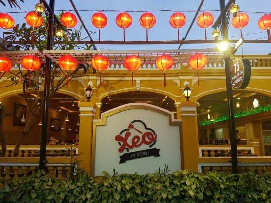 vị trí Ẩm thực Xèo tại Đà Nẵng