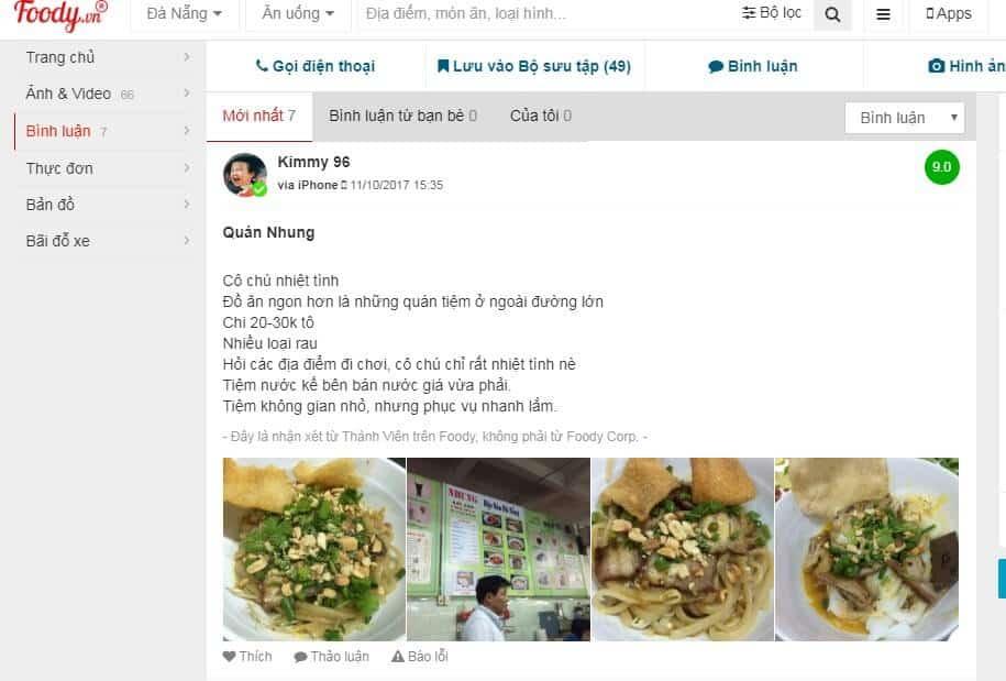 ăn gì ở chợ Hàn Đà Nẵng