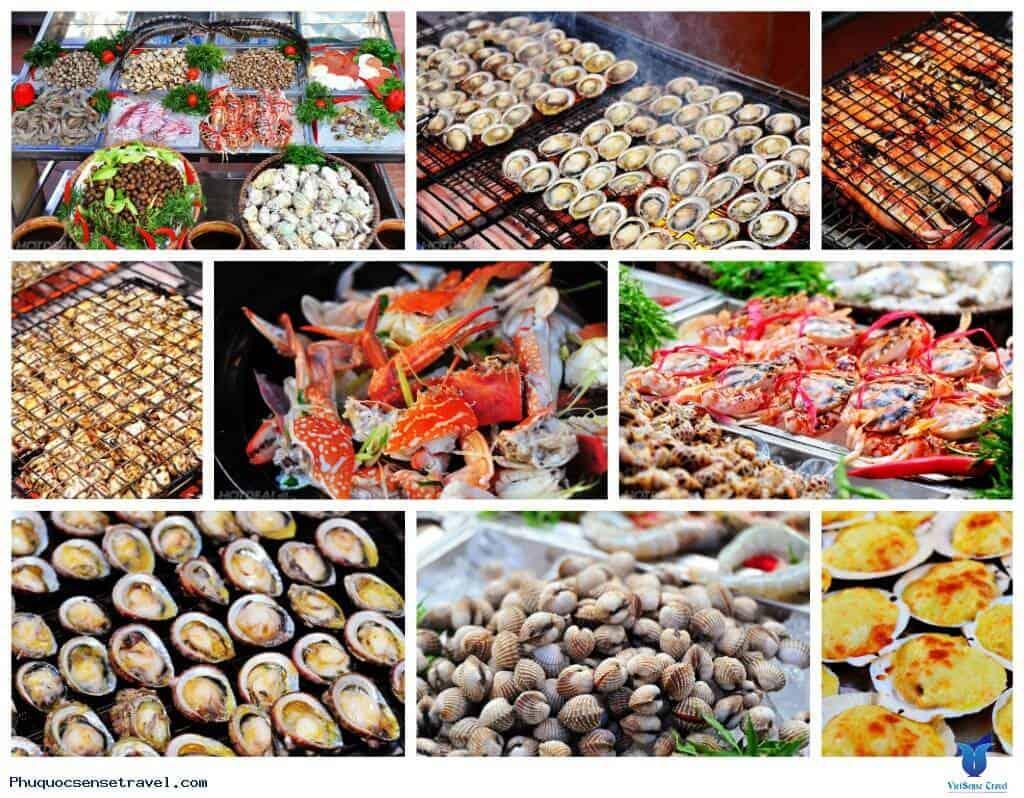mua bào ngư tại chợ Đông Dương