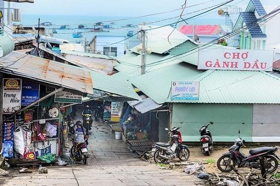 Chợ Gành Đầu Phú Quốc