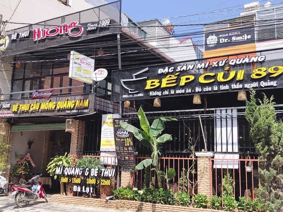 Mì Xứ Quảng – Bếp Củi 89 ngon tại Đà Lạt