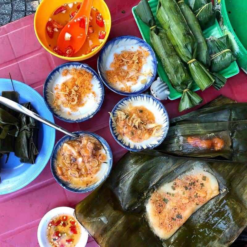 Bánh bèo bà Bé tại Đà Nẵng
