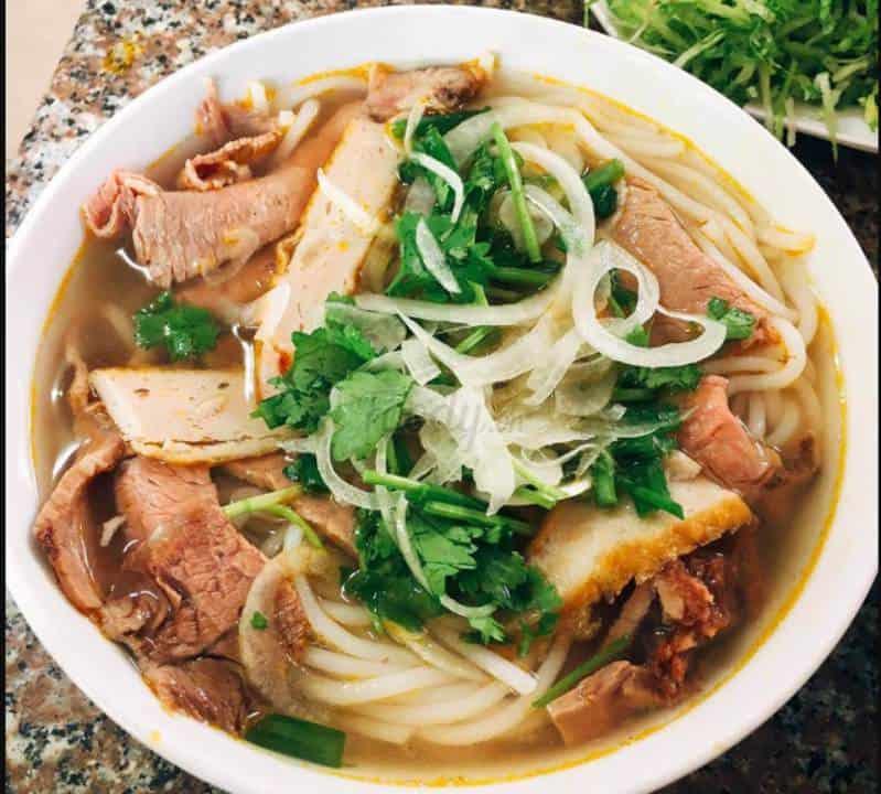 bánh canh chả cá Đà Lạt Xuân An