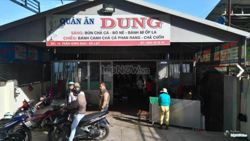 Bánh canh chả cá phan rang Dung