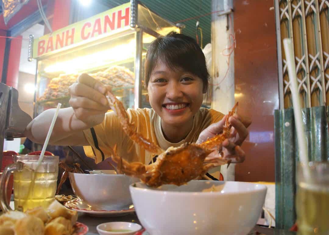 Bánh canh ghẹ Phú Quốc Quốc Anh
