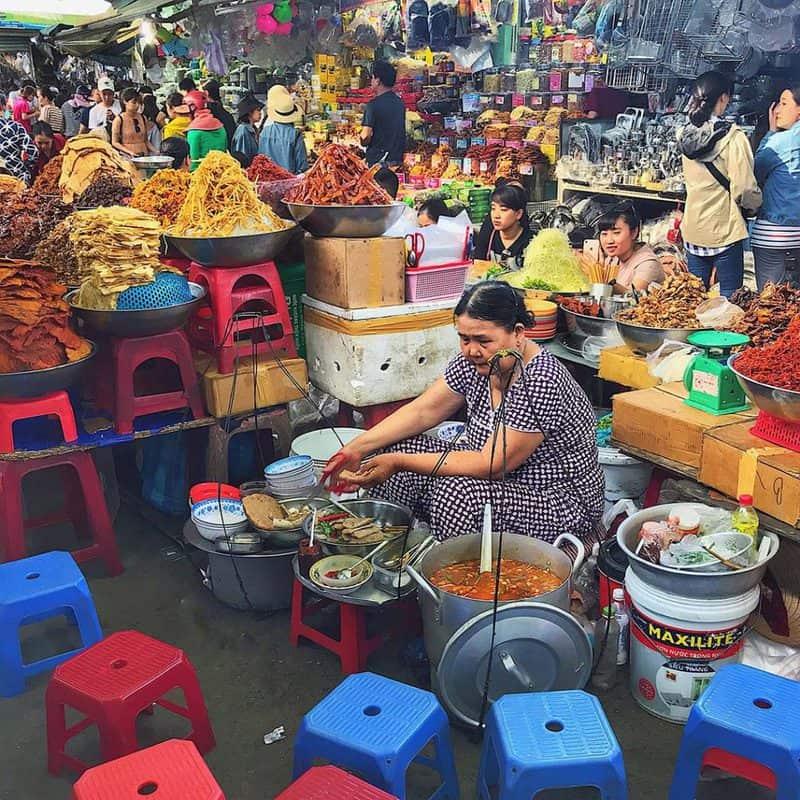 Chợ cồn- địa điểm mua đặc sản