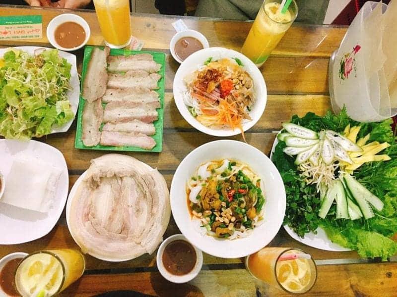 quán ăn ngon đường Núi Thành Đà Nẵng