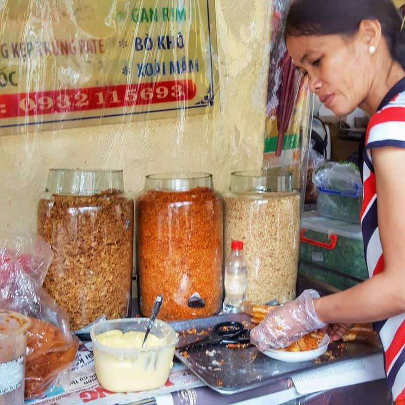Bánh tráng Kim Đồng