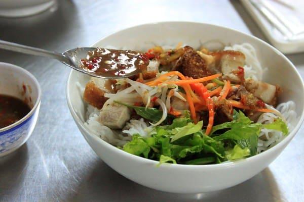 Bún mắm ngon Đà Nẵng