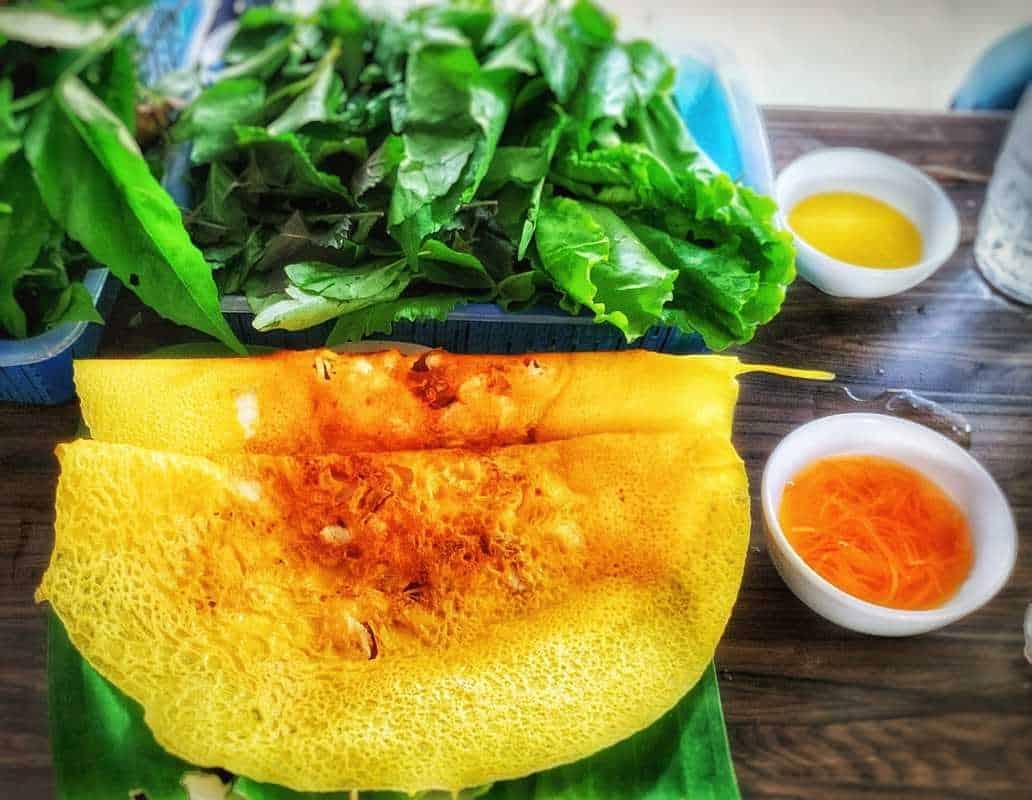 Món bánh xèo Đà Thành