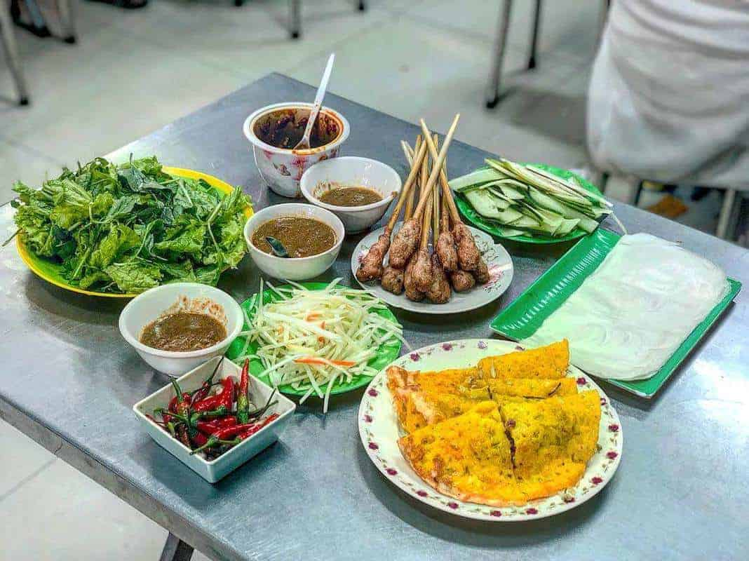 Khu ẩm thực chợ Cồn Đà Nẵng