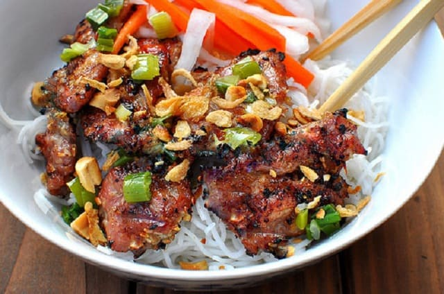 Bún thịt nướng Đà Nẵng