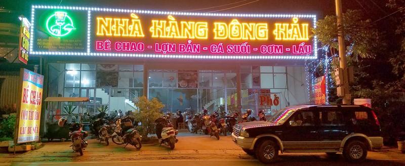 Những nhà hàng bê chao Mộc Châu ngon