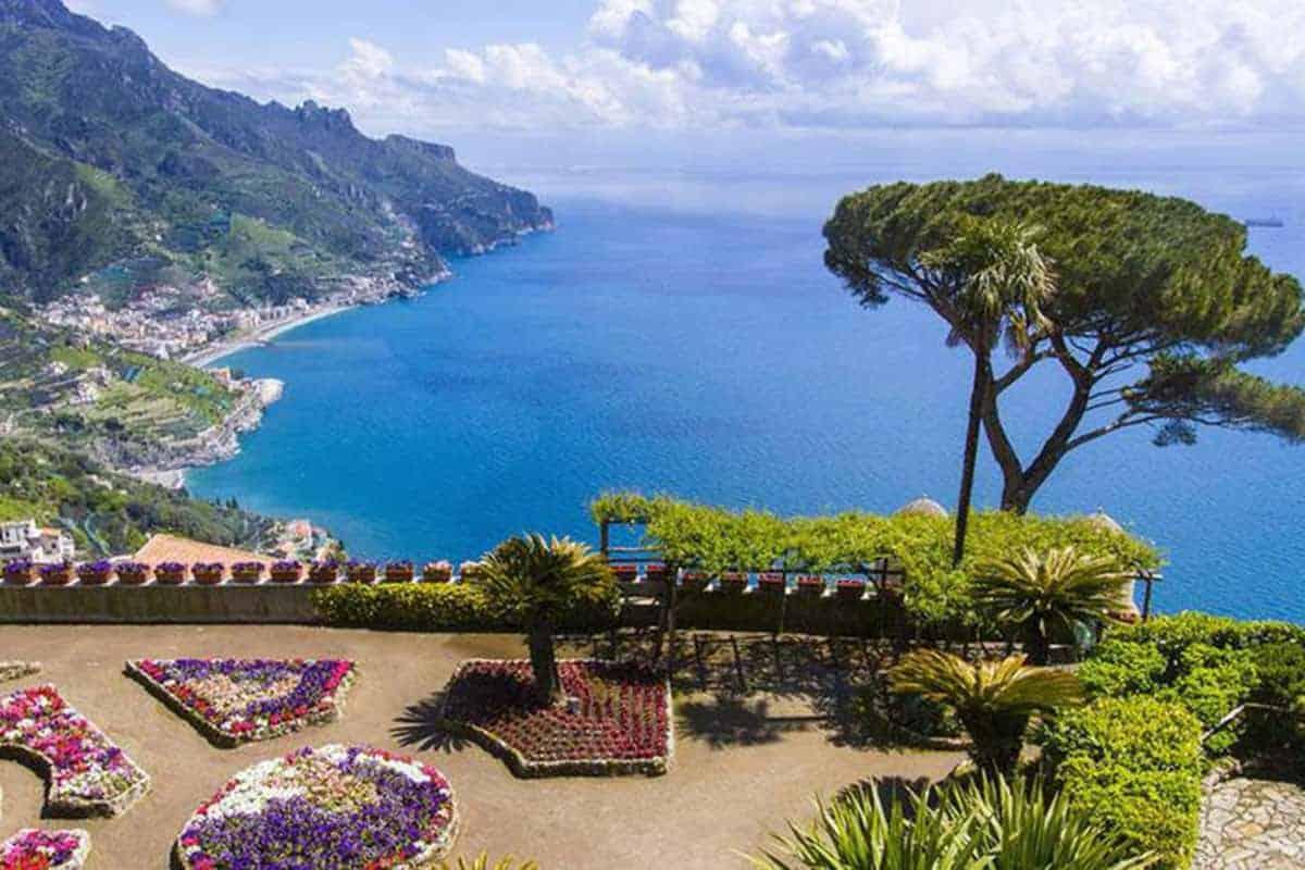 du lịch bờ biển Amalfi nước Ý