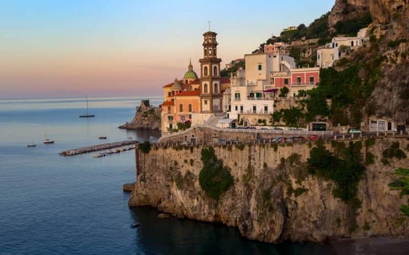 khám phá Bờ Biển Amalfi