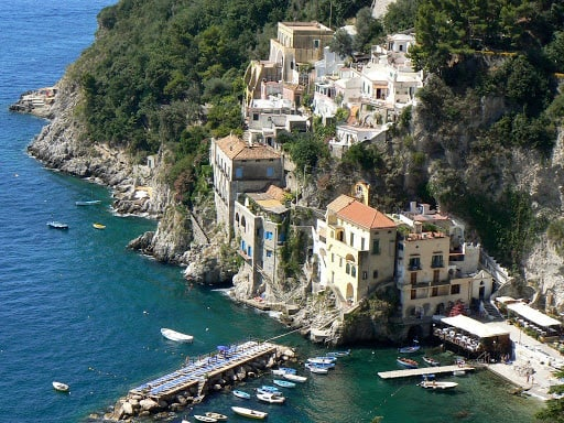 khám phá Bờ Biển Amalfi ở Ý