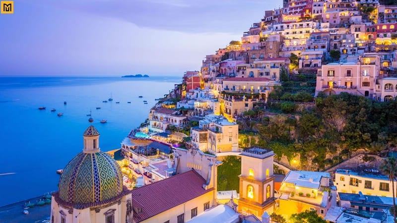 Bờ Biển Amalfi đẹp ở Ý