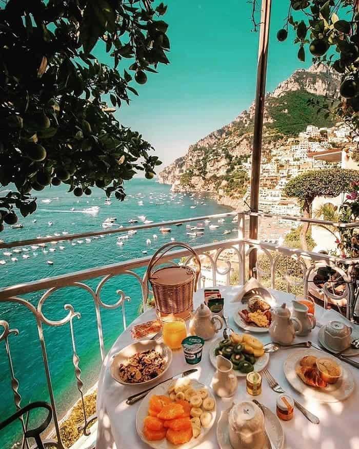 Bờ Biển Amalfi ở Ý