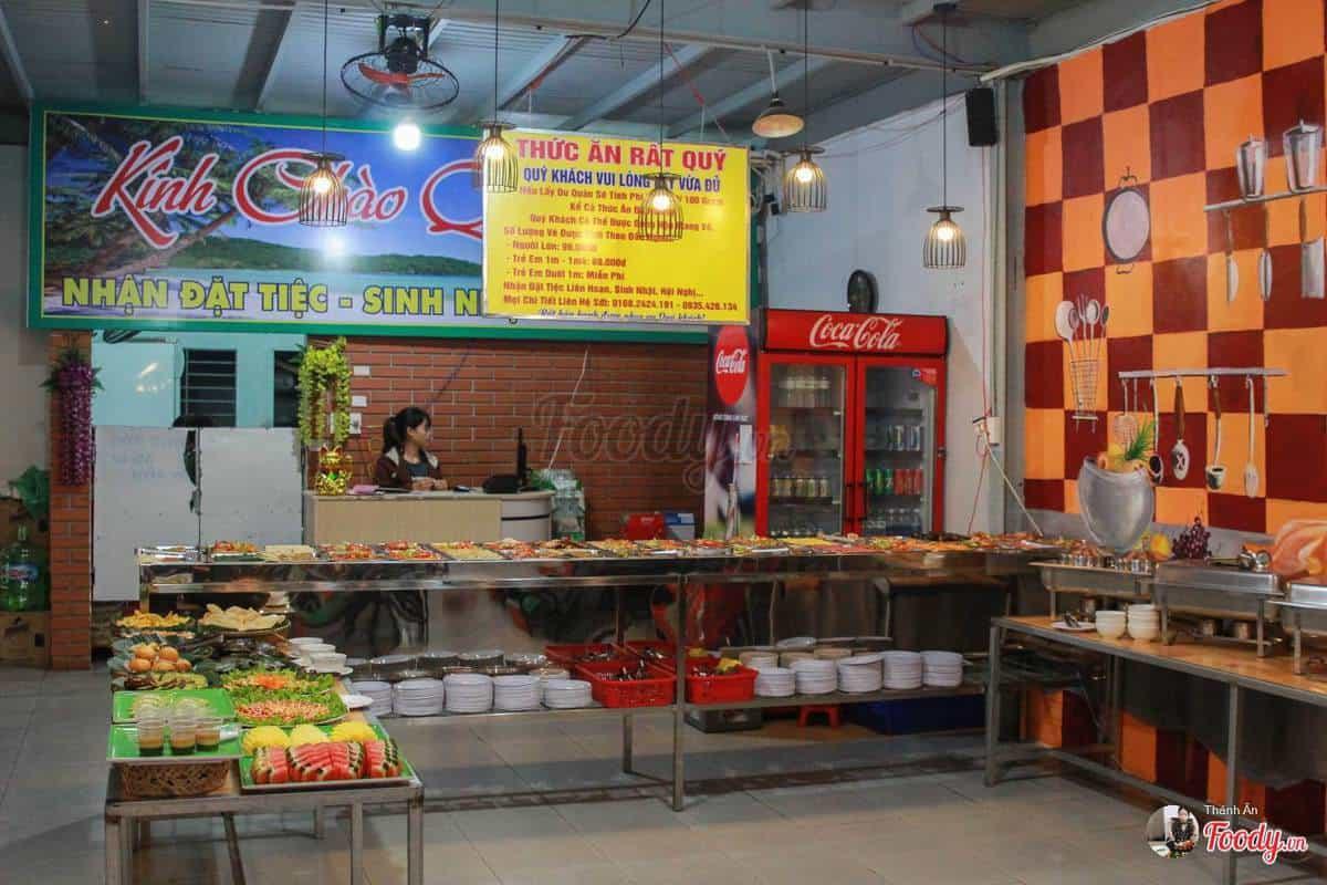 Không gian quán buffet nướng Aladin Đà Nẵng